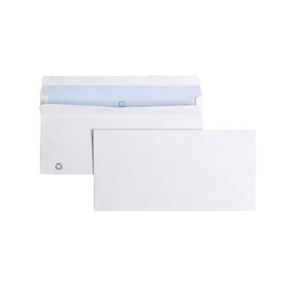 Enveloppe 12.0x17.6 80Gr Sil Blanc x500